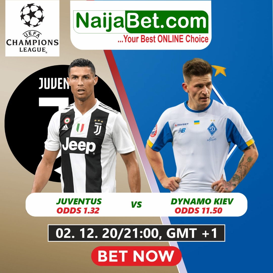 🐐RONALDO RETURNS TONIGHT! #JUVEDYNAMO  Juventus have won their last 3 matches against Dynamo Kyiv in all competitions.  🤔What's your prediction in this Meeting?  👉Get X3 of your stake when you bet on our BTTS+ Home Win  》》3.04 Odds  Bet now on  📲💻