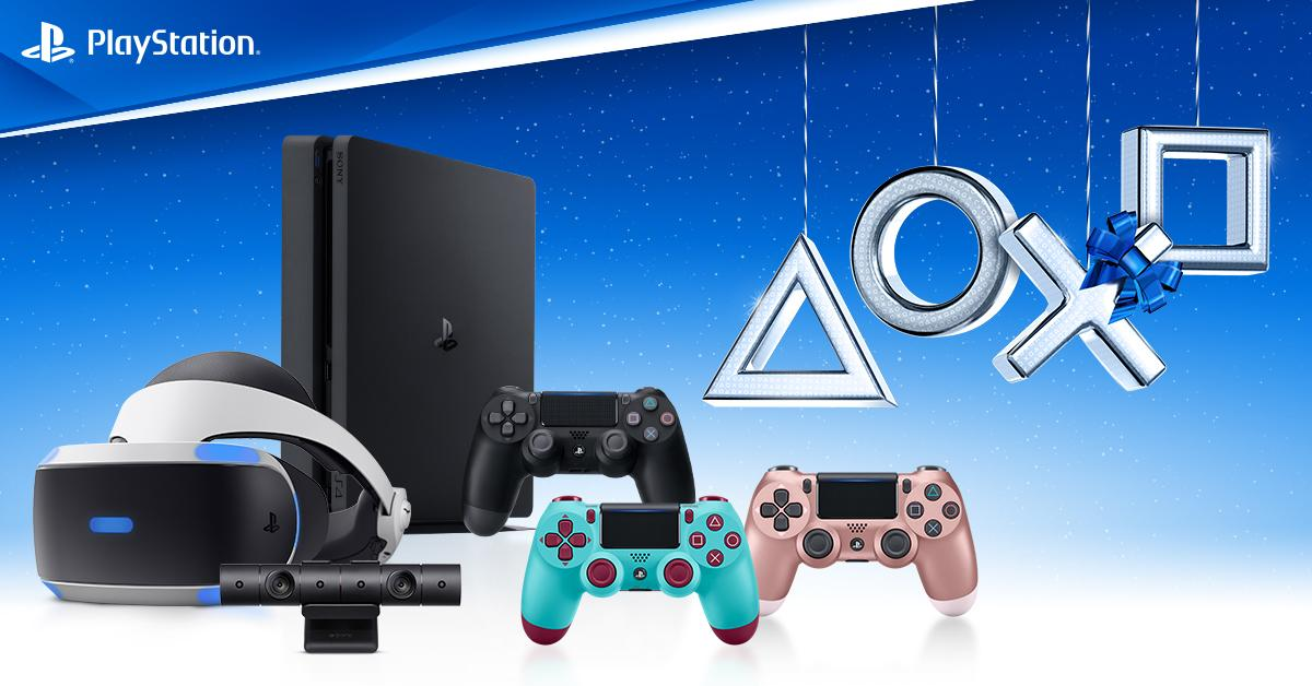 Find the perfect gift for the gamer in yor life with the PlayStation Gift Guide: https://t.co/0nobCstyub  ...or just treat yourself 💁 https://t.co/njk99EtBI5