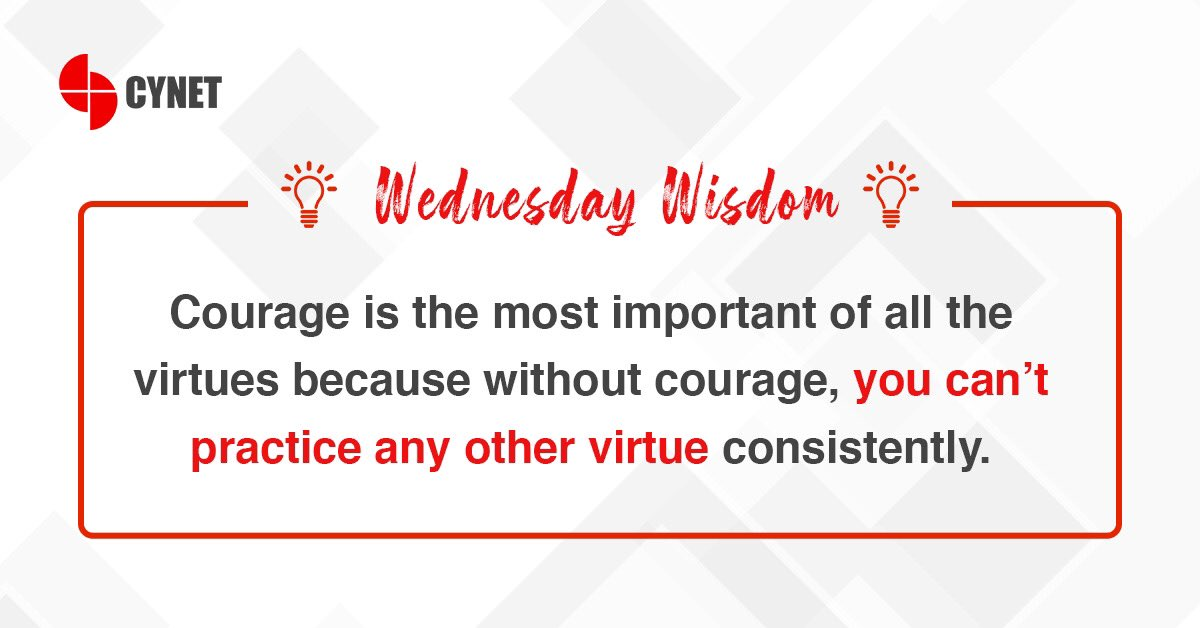 Here's a good thought to remember today. #HappyWednesday! #WednesdayWisdom #WednesdayMotivation