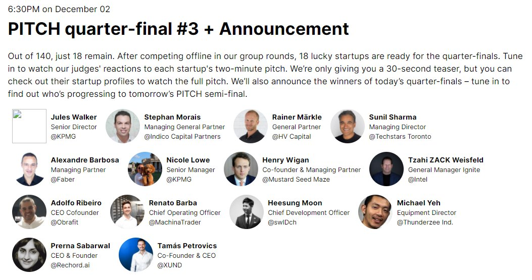 10 minutes to go until the quarter-final pitch at @WebSummit 🚀🎉  #WebSummit #websummit2020 #machinatrader #cryptotrading #algotrading https://t.co/Jmpxmmn4Bu