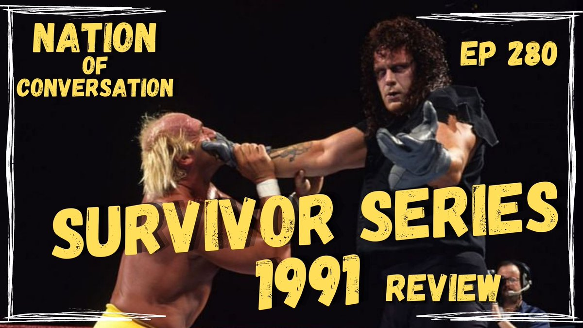 This week's review is Survivor Series 1991! A PPV to setup another PPV?  Big angles happening but not actually on this show.  Undertaker's first win, HH sandbagging, Rockers breakup and a towering feather!  Audio: https://t.co/a8GcXoNI20  Video: https://t.co/SLR1Si4Ovp https://t.co/gfwBkIbVrN