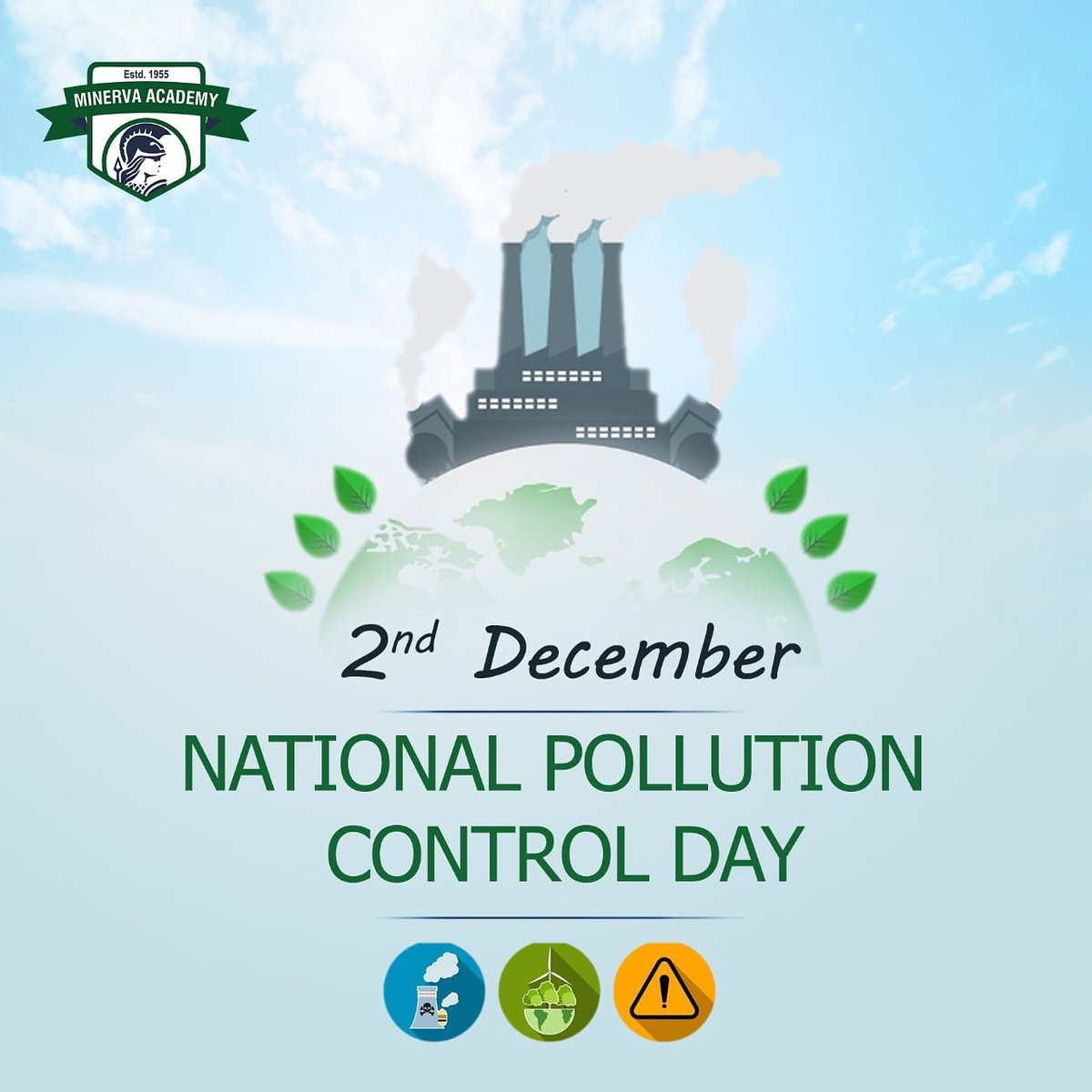 December 2 is observed as National Pollution Control Day every year. The day is observed in the memory💐 of those who have lost their lives🙏🏻 in the Bhopal Gas tragedy on the night of 🗓️December 2nd and 3rd, 1984. #pollutioncontrolday #awareness #PollutionControl #pollutionfree