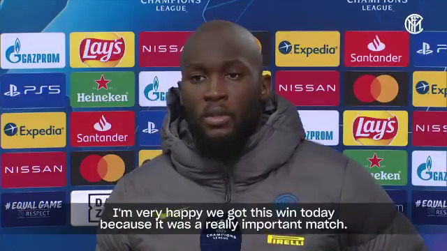 🗣 | INTERVIEW  Another inspired performance from @RomeluLukaku9 ⚽⚽👏  The Belgian's thoughts following #BMGInter 🎙  @Inter_TV #UCL