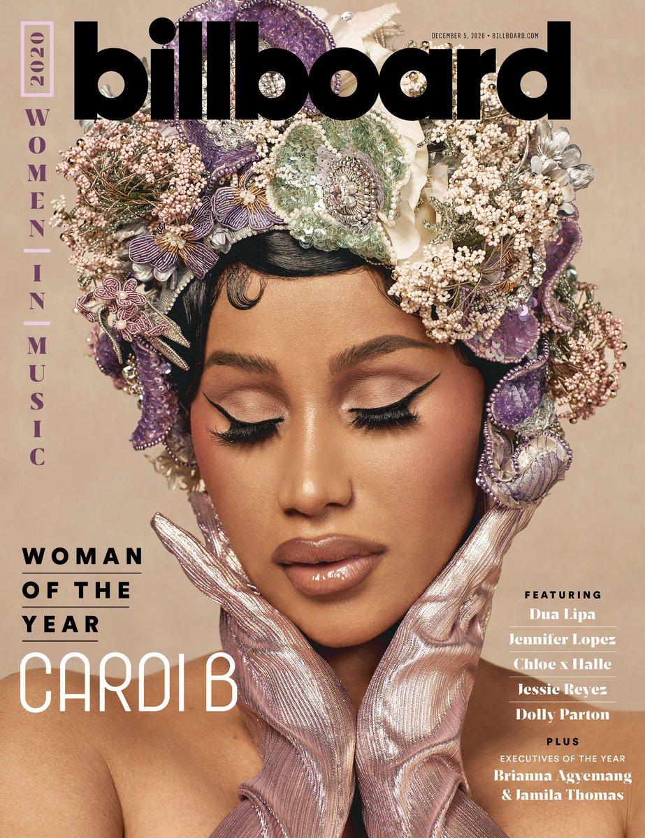 Cardi B is Billboard's Woman of the Year