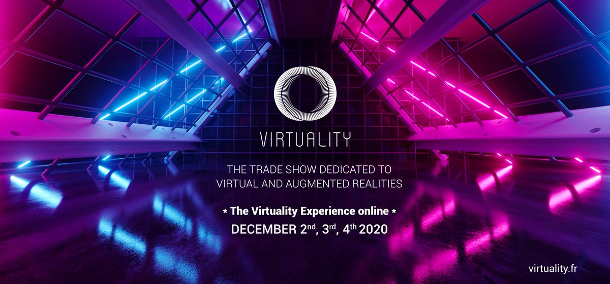 📅 Retrouvez-nous à 11h40 sur le stand @LePavillonXR (Hall1) à @VirtualityParis 😎💻  Dominique Vucic partagera son retour d'expérience sur l'utilisation de l'#ImmersiveLearning chez @airfrance !  https://t.co/YbwofuZO8z  #VR #VirtualReality #Virtuality2020 https://t.co/oOhF1Y7Ssx