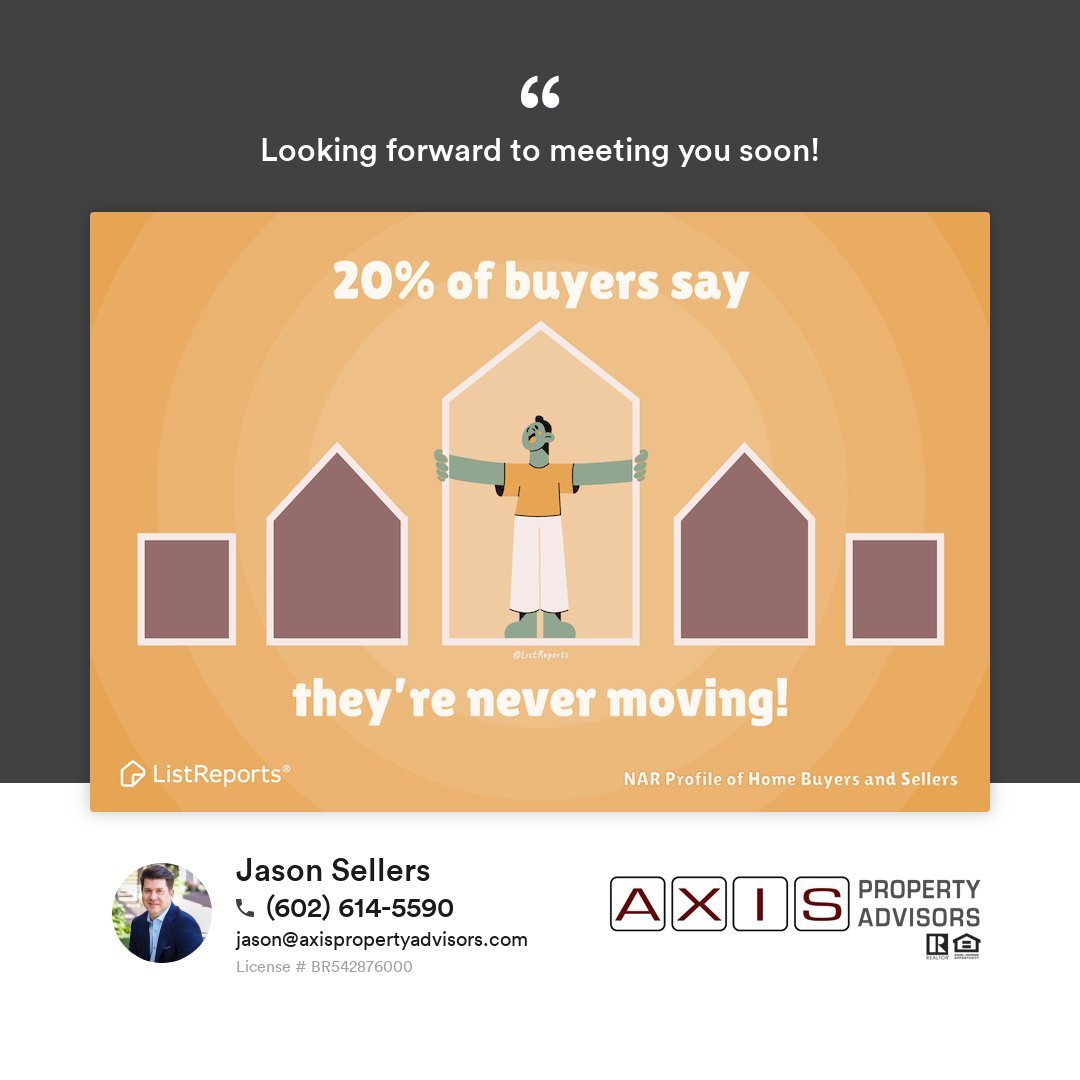 Whether you're looking for your forever home or your in between things home, we'll find it. When's the last time you moved? #home #houseexpert #house #realestate #homeowner #dreamhome #foreverhome #realestateagent #househunting #realtor #jasonsellers #axispropertyadvisors