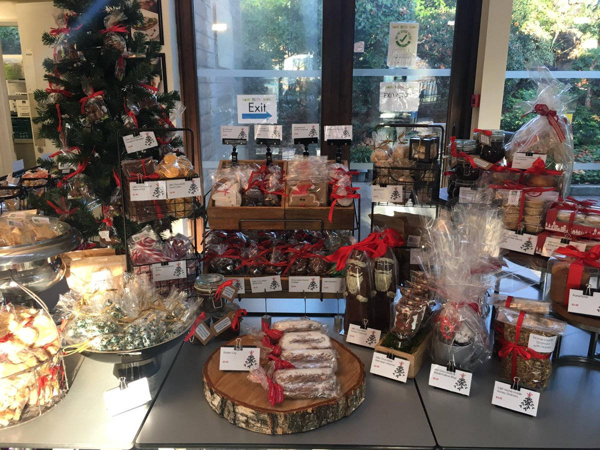 Holland Park Cafe is most certainly in the Christmas spirit! Make sure you visit and see our full selection of fresh home-made treats and gifts on offer. #HollandParkCafe #HollandPark #Christmas #Home-made #Cafe