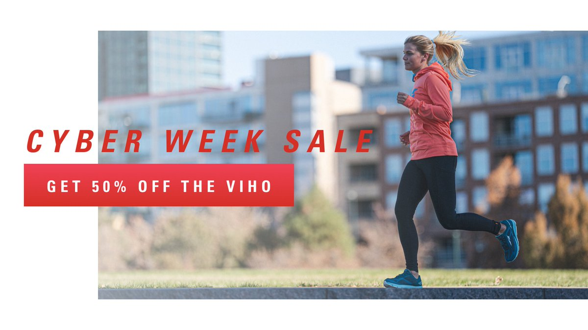 CYBER WEEK SALE: Get 50% off the Viho on Altra's US Website today! Shop now: bit.ly/2L1ScPx