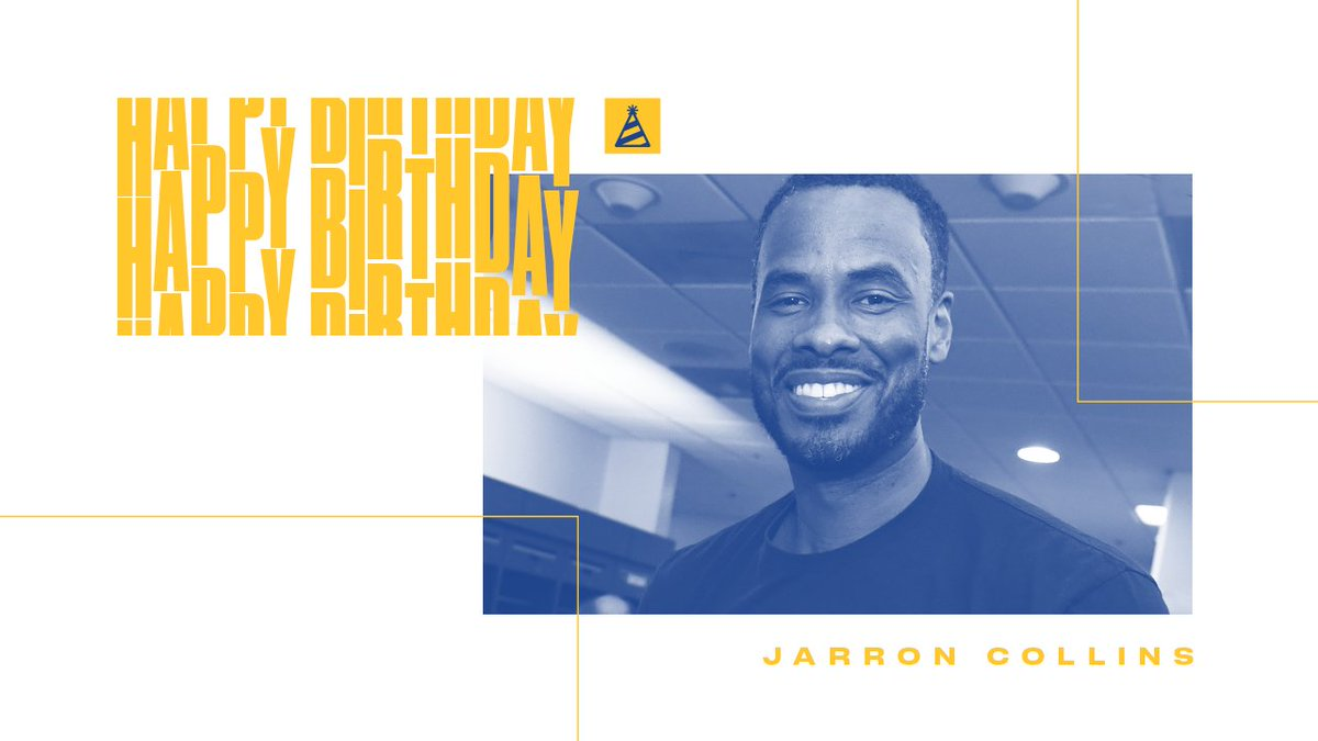 #DubNation, join us in wishing assistant coach @jarronctwin a HAPPY BIRTHDAY!