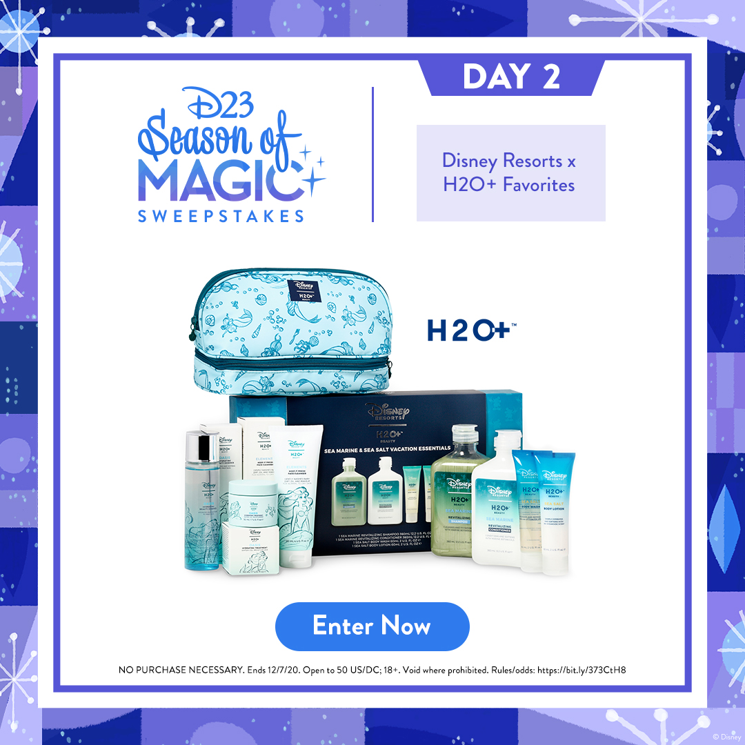 Make this prize pack part of your world! Enter for a chance to win a @H2OPlusUSA prize pack that's mer-made for the perfect self care day:  NO PURC NEC. Ends 12/7/20. Open to 50 US/DC; 18+. Void where prohibited. Rules/odds: