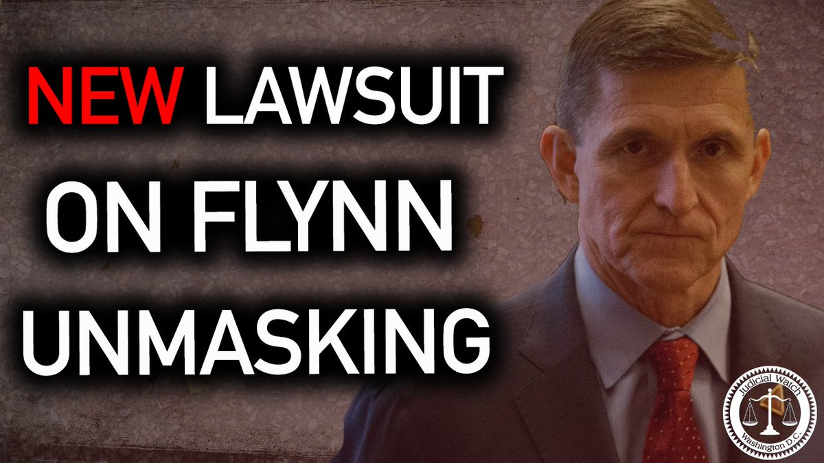 Image for the Tweet beginning: Judicial Watch announced it filed