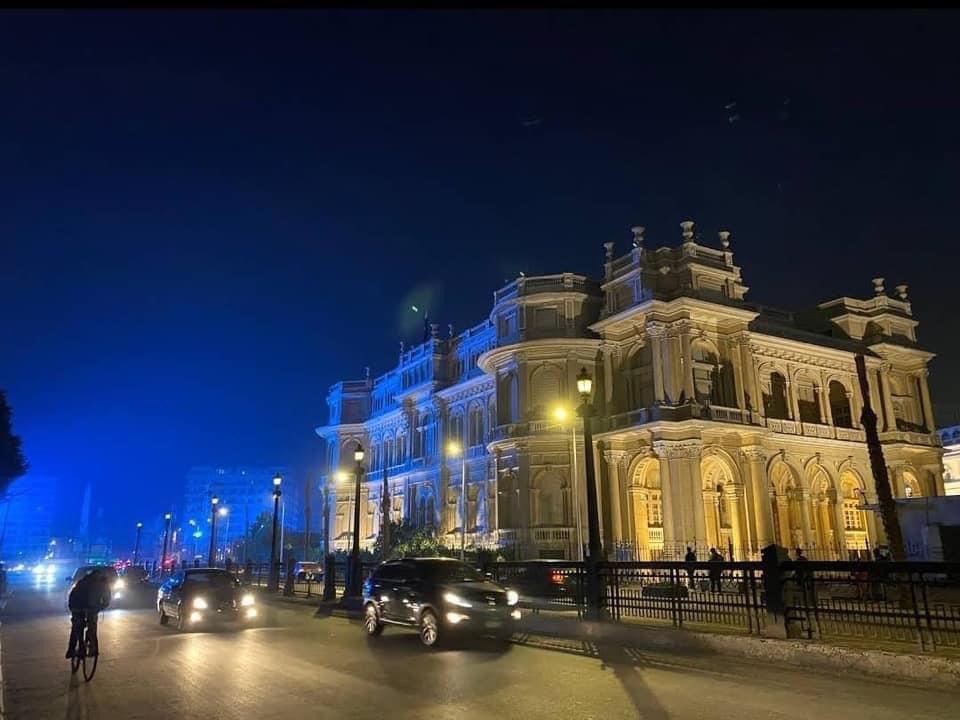 📸 #مصر الجميلة المنورة  باهلها وناسها Tahrir square after renovation #Cairo #Egypt 🇪🇬 #تحيا_مصر ✌️🇪🇬 https://t.co/nDIh2FD7D4
