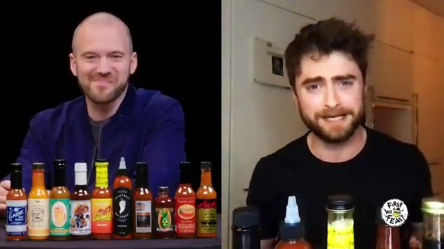 TOMORROW on #HotOnes, Daniel Radcliffe steps into the gauntlet! Tune in @ 11am EST 🥵🔥  Presented by @MountainDew