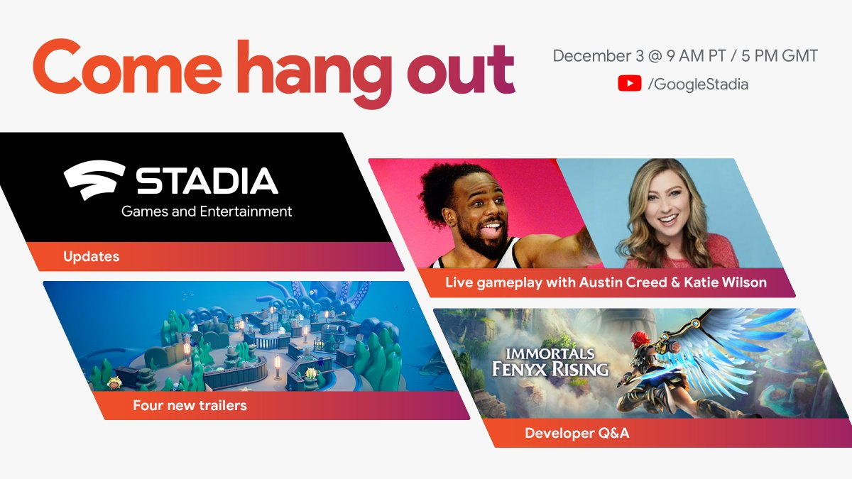 📅 Mark your calendars, because we're hanging out live tomorrow. Check out our full schedule of fun, hosted by Austin Creed (@UpUpDwnDwn) and Katie Wilson (@TheKatieWilson) on YouTube at 9 AM PT.