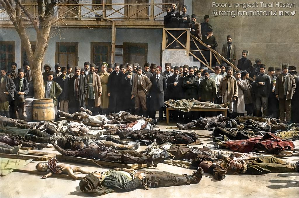 Do you know?   From March 8 to April 3,Armed terrorists Dashnak (Armenian terrorist group) and Baku-based Bolsheviks killed about 5,000 Azerbaijanis. https://t.co/JTLJ1olJu1