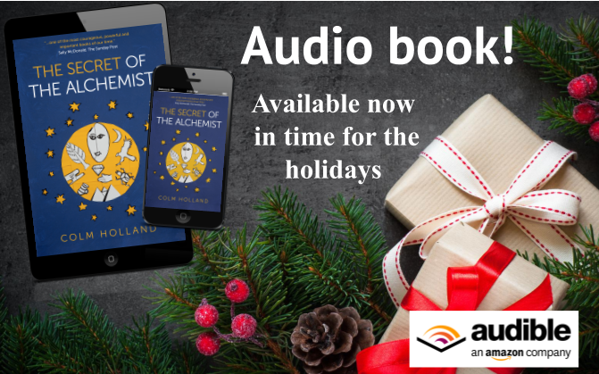 Pleased to announce my bestselling book 'The Secret of The Alchemist' - narrated by the author, is available now as an audio book on #Audible.