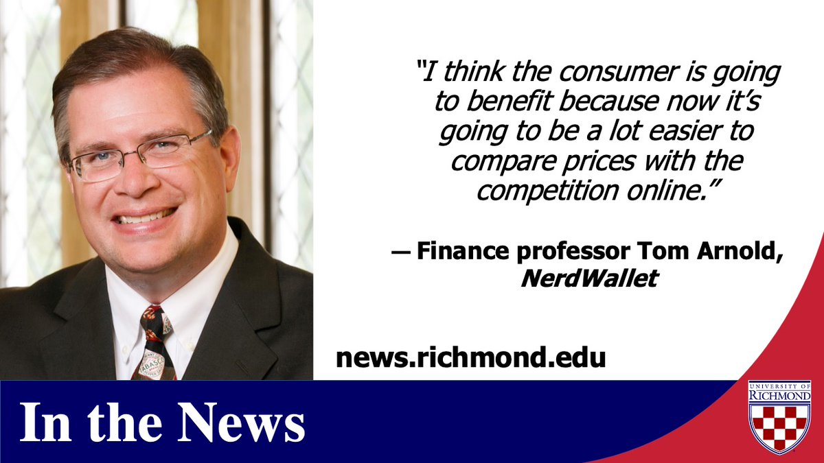 #News outlets are heavily covering the 2020 #holidayshopping season and @UR_RobinsSchool finance professor Tom Arnold (@arnold_ur)is a go-to expert for commentary. Check out his comments in this @NerdWallet piece by @CourtneyNerd. https://t.co/tmxgHtcroT https://t.co/DnBq7plDfw