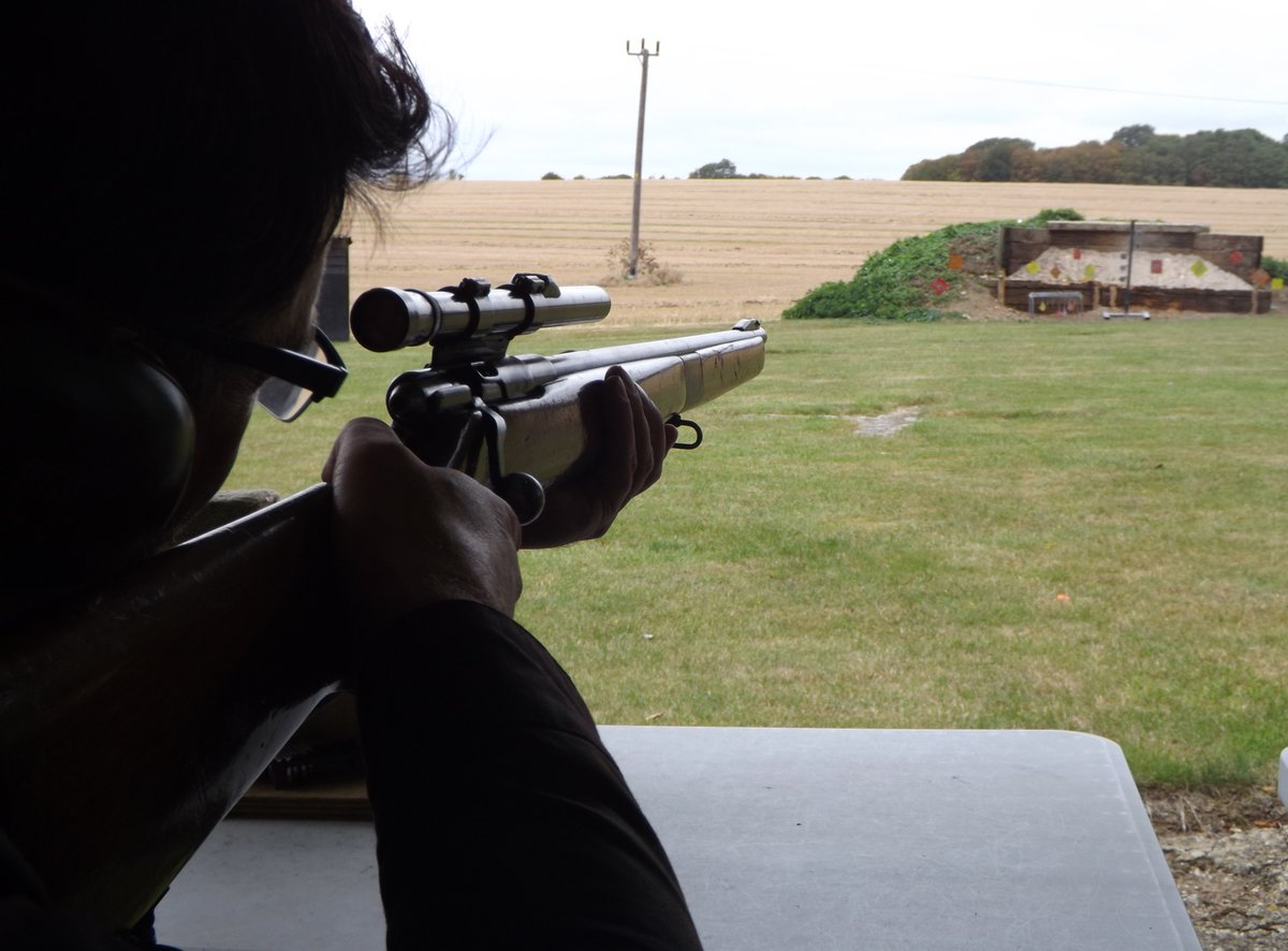 Emily took the Hassle out of Gift Shopping with a Real Rifle Shooting Gift Vouchers ages 12+ #skillatarms #vyv #vyvyan #me #love #heart #booking #love #instagood #great #girl #tagsforlikes #instadaily #friends #summer #fun #smile #joy #delight #adult #amazing #happiness #birthday