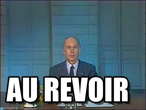 """Simon on Twitter: """"Au revoir M. le Président. Valéry Giscard d'Estaing est  décédé !… """""""