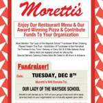 Image for the Tweet beginning: Supper Club on December 8 Moretti's