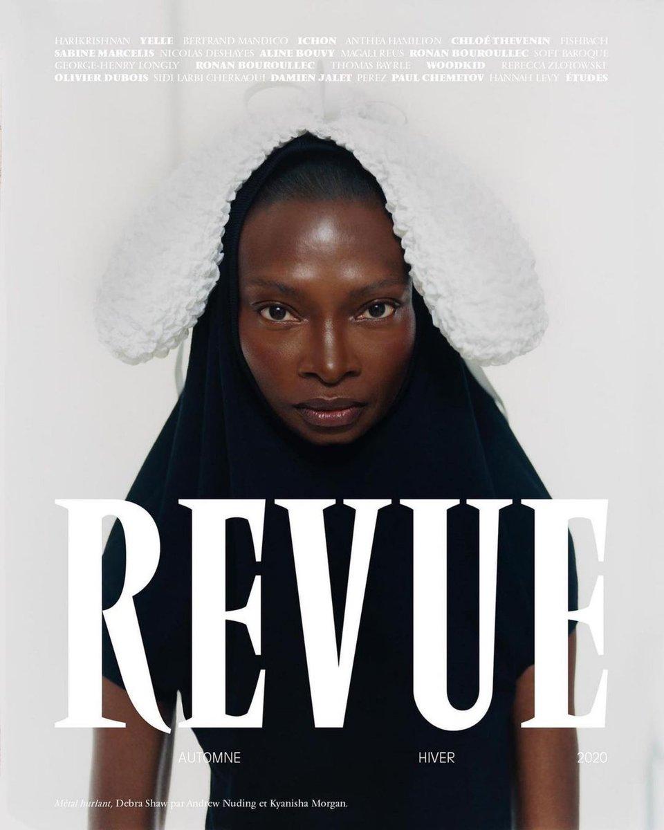 #revuemagazine AW20  #kyanishamorgan #andrewnuding #beasweetbeauty #issacpoleon #louimarienails #hellakeck #nicolakast #thearcadeproduction #debrashaw