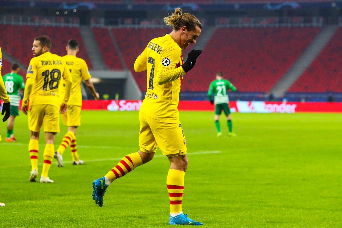 Barca Universal On Twitter Antoine Griezmann Celebrating His Great Goal