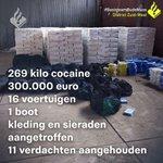 @POL_OudeMaas - Elf aanhoudingen in onderzoek naar handel en grootschalige invoer van #drugs via de havens van #Antwerpen en #Rotterdam 👮♂️ #Autoverhuur-bedrijf in #Barendrecht betrokken in groot #ondermijningsonderzoek.   #Drugshandel #Ondermijning   Zie 👉 https://t.co/vqdZmqWhwt https://t.co/QCMXjdR11U