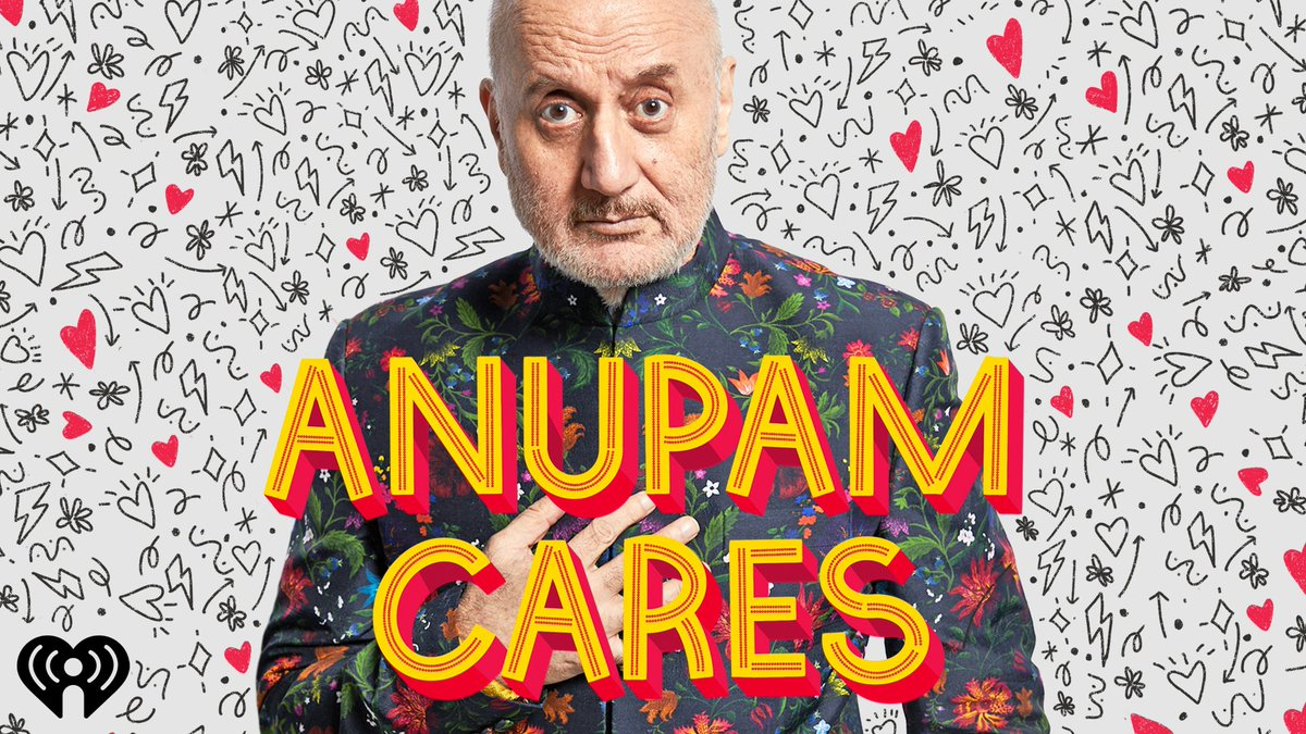 Ladies & Gentlemen!! I cannot wait until Dec 7th to share my podcast #AnupamCares with you… so I'm giving you a little sneak peek TODAY! Listen to the trailer and subscribe! So you don't miss the episodes. 😍😎 @iHeartPodcasts @iHeartRadio