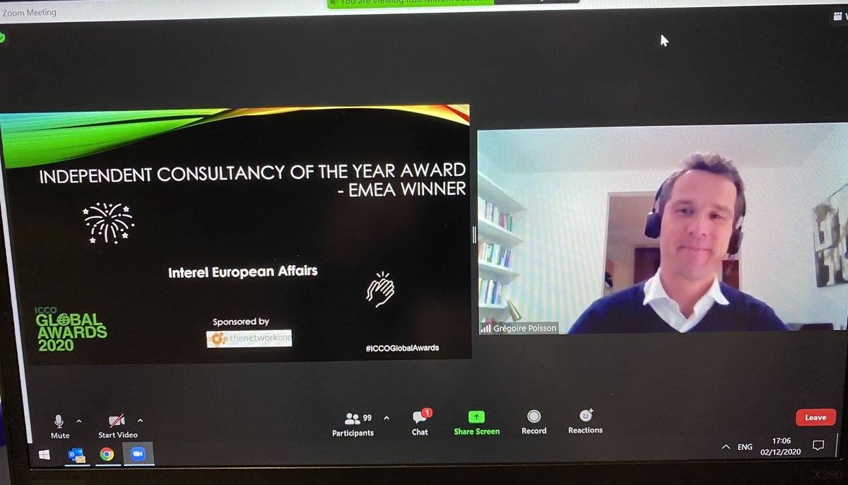 Big news. Tonight, at the prestigious @ICCOpr Awards Ceremony, Interel was named the Independent Consultancy of the Year – EMEA. #ICCOGlobalAwards #advancinginterests @InterelEU @InterelUK @interel_fr @InterelBelgium @Interel_Germany @Interel_Global https://t.co/bldTVf8ZYP