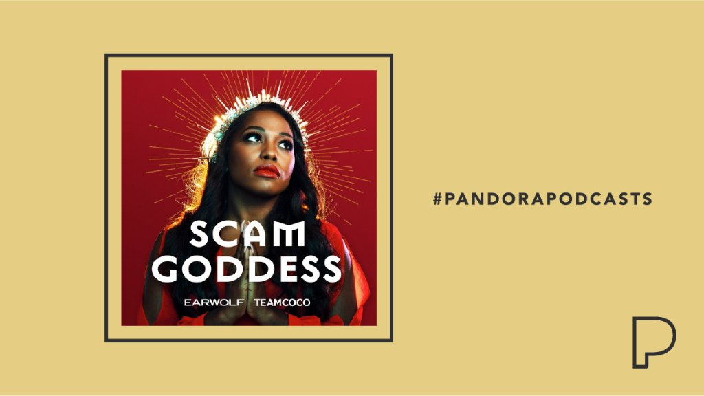 .@earwolf/@TeamCoco bring us @ScamGoddessPod. Host Laci Mosley keeps listeners up to date on current rackets, digs deep into the latest scams, and breaks down historic hoodwinks alongside some of your favorite comedians! Dig in now:  #PandoraPodcasts