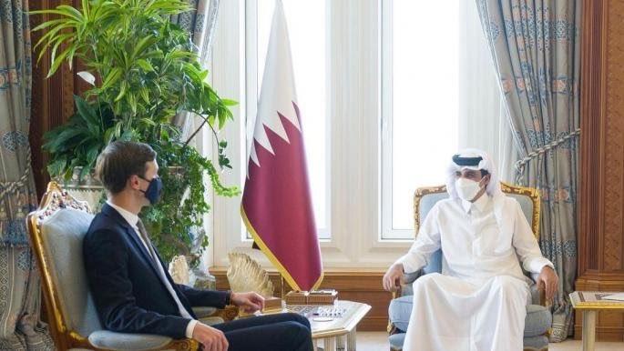 لا تصدقوا انه جاء من اجل المصالحة الخليجية بل لتسريع مسارات التطبيع.
