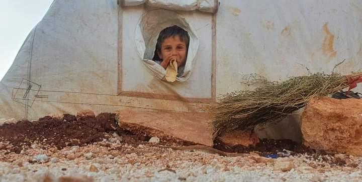 يحليلهم ربي يحفظهم ويفرج عنهم .   #مخيمات_إدلب  #سوريا