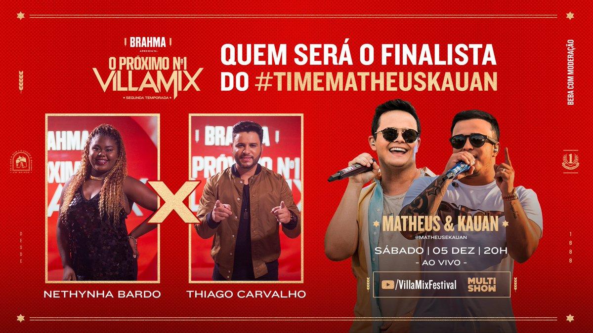 Neste sábado, 05/12, às 20h tem episódio novo do #ProximoN1 com @matheusekauan e você vai escolher o último finalista da competição! Já prepara o coração e coloca a Brahminha pra gelar porque vamos conhecer o #TimeMK.  #AprecieComModeracao