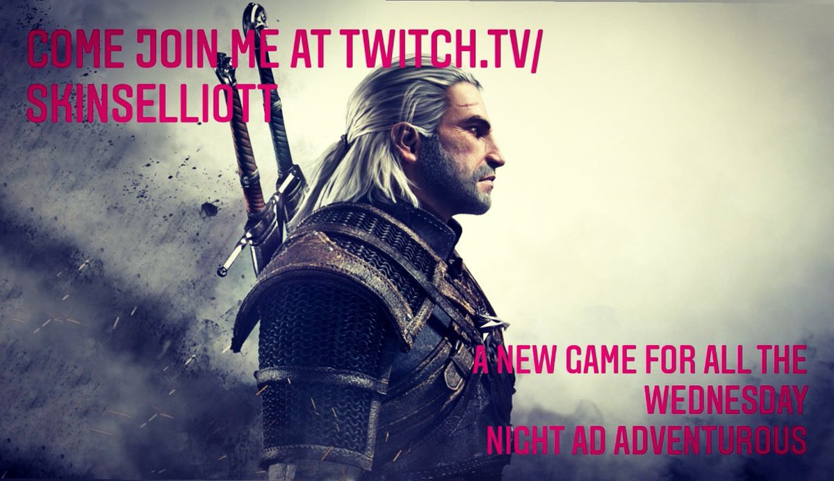 Come toss a coin to a skinny. A new game starts tonight so come by my twitch channel and join me on this new adventure from 19:00.  . . . https://t.co/ae37etL6WG  #thewitcher #streaming #twitch #streamer #gaming  #oldschool #live #livestream #twitchaffiliate https://t.co/HrfPHJtYmH