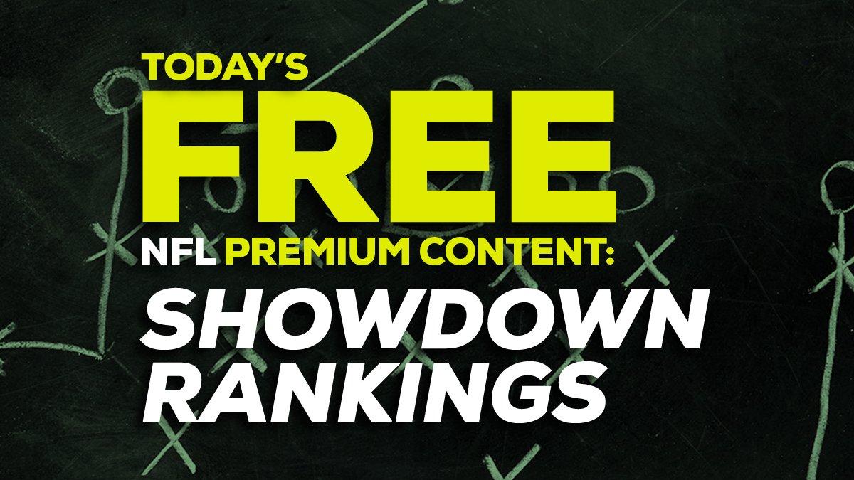 🚨🏈FREE TODAY🏈🚨   The @AwesemoNFL DFS Showdown/Single Game Rankings -- Steelers vs Ravens!    #draftkings #fanduel #dfs  #picks #nfl #fantasyfootball #HereWeGo #RavensFlock
