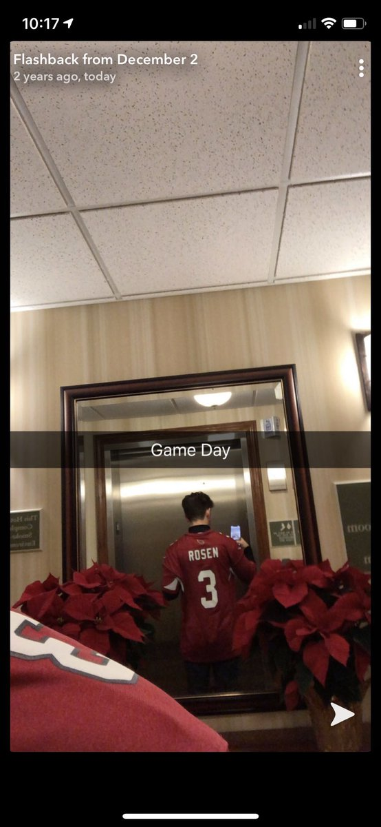 Two years ago today I was in Green Bay to watch Josh Rosen upset the Green Bay Packers. #azcardinals https://t.co/dZmtJ8L4e4