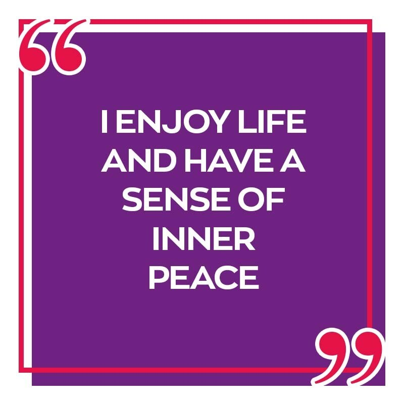 Is this how you feel today?  Are you completely loving your life today and feel truly at peace? Peace out! #SelfConfidence #PositiveVibes 🌸❤☮ https://t.co/73AEF64BMC