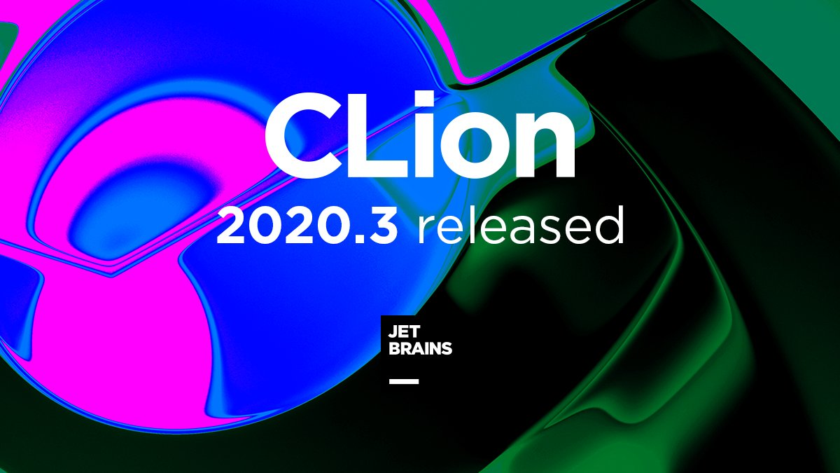 """JetBrains CLion IDE on Twitter: """"🎉 Introducing CLion 2020.3! 🎉 - Debug  core dumps and as Root - CTest support - Initial support for MISRA C 2012  and MISRA C++ 2008 -"""
