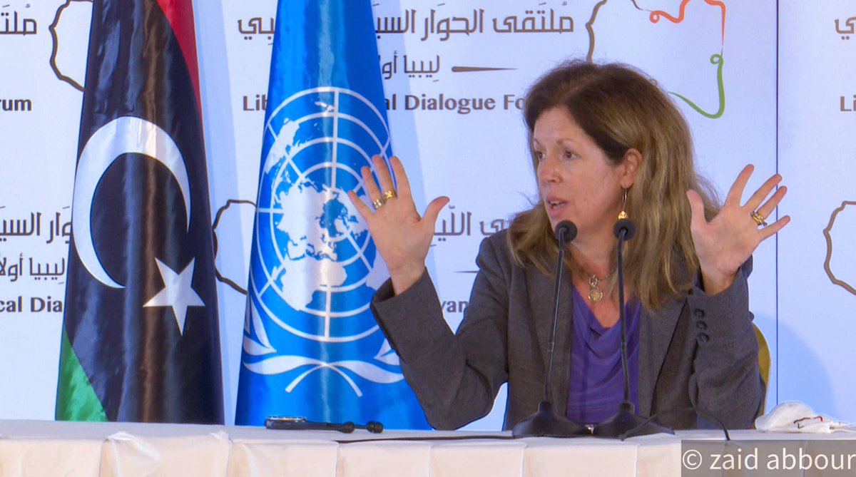 "#Libya   #UNSMIL's Stephanie Williams says about 20.000 ""foreign forces and/or #mercenaries"" are in about 10 military bases around the country, who are there ""for their own interests, not Libya's"".  #Russia #Wagner #Turkey #UAE  #ليبيا #مرتزقة #فاغنر #روسيا #تركيا #الإمارات"