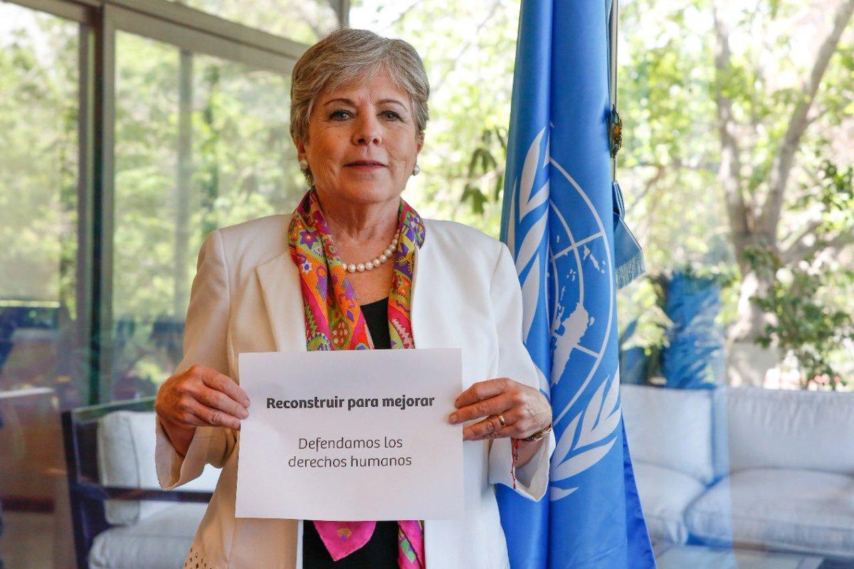 Agradezco a @mbachelet por sumarme a los esfuerzos para que los derechos humanos sean el pilar para #ReconstruirMejor con #igualdad y #sostenibilidad #DíadelosDerechosHumanos 2020. Invito a @alferdez, @LuchoXBolivia y @m_ebrard a hacer unirse y convocar a tres colegas más. https://t.co/rxudRkC4bF