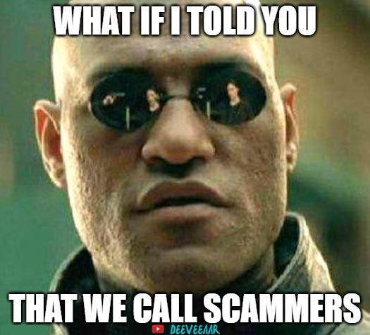 #Morpheus 😎 It is time for some #scambaiting! Join us on #Youtube while we call #scammers!  👉  #scambait #scambaiter #Deeveeaar #WednesdayWisdom  #WednesdayThoughts #WednesdayMotivation #matrix #matrixmeme #Matrixmemes #Wednesday