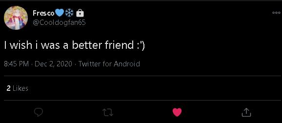 Bro shut it you are a good friend @Cooldogfan65