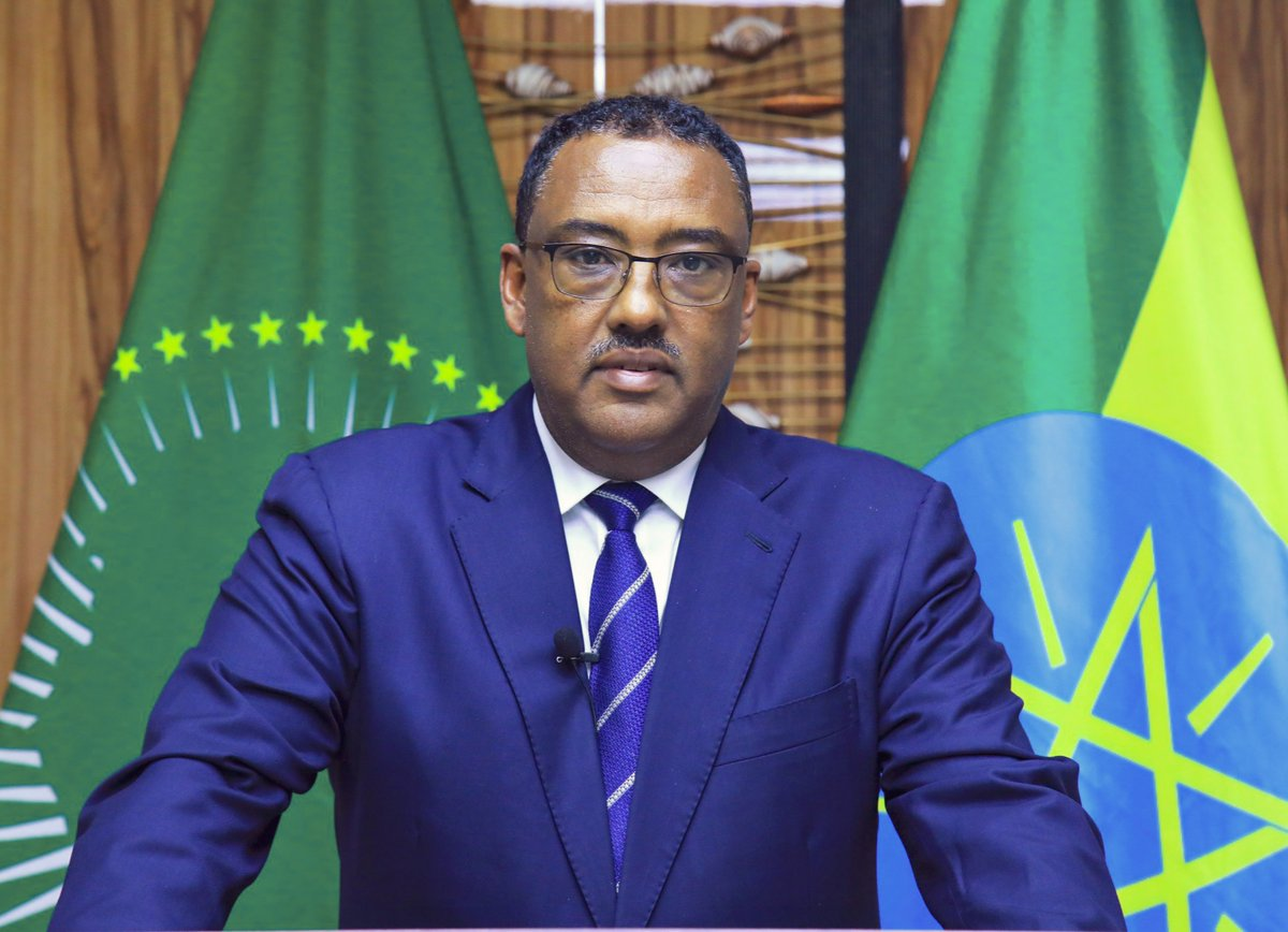 H.E. Demeke Mekonnen, Deputy PM & Min. of @mfaethiopia spoke over the phone w/ H.E. Sergei Lavrov, FM of #Russia about the conclusion of the operation in #Tigray & humanitarian support to civilians. Mr. Lavrov said Russia respects #Ethiopia's sovereignty & territorial integrity. https://t.co/MMCKFadEpj