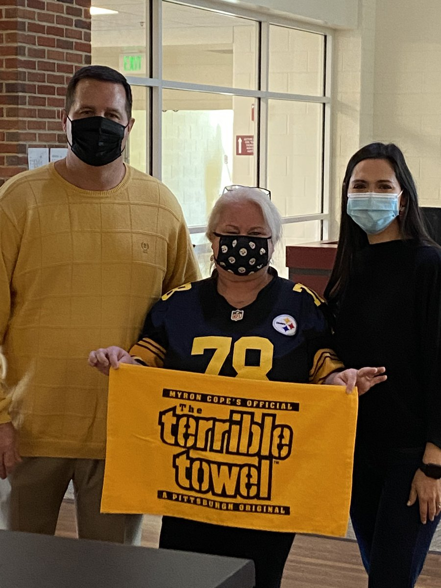 We are READY for some STEELERS football at Hartselle High School!!  #HereWeGo @steelers