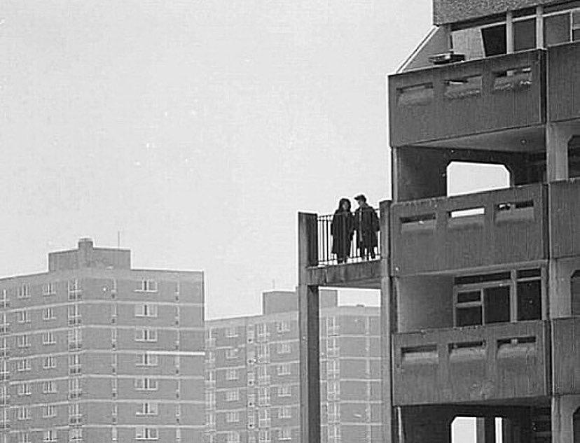 Hulme, Manchester, 1984. Photo © Adam T Burton.