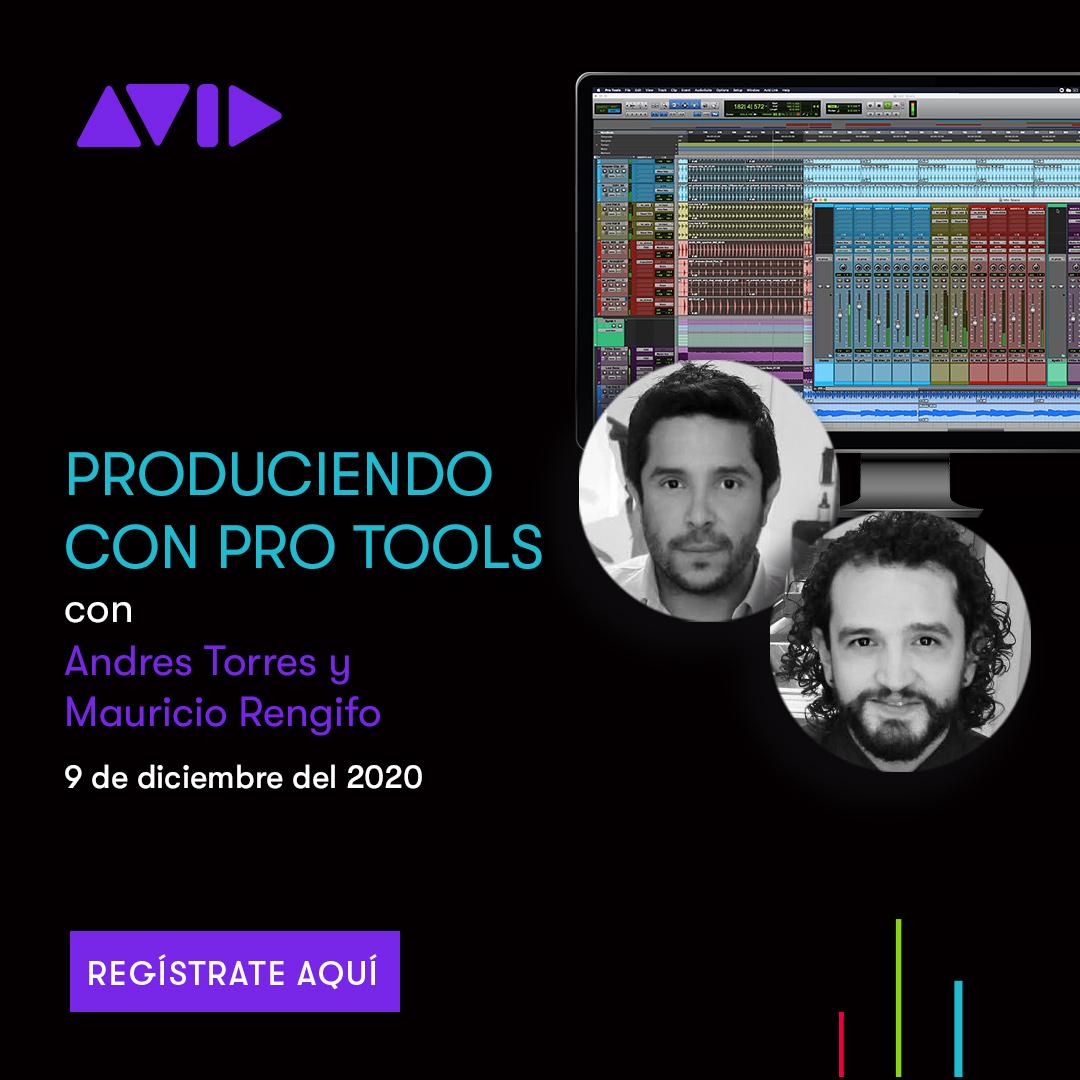 Los invitamos a este webinar junto a los productores de: Despacito, Robarte Un Beso, Un año, Me Gusta y muchos más  Inscripcion ▶️   #webinar #avid #audiotips #despacito #producciónmusical #producción