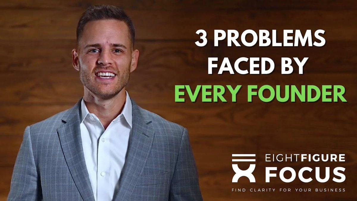The three problems faced by every successful founder    #businessowners #business #smallbusiness #businessgrowth #strategy