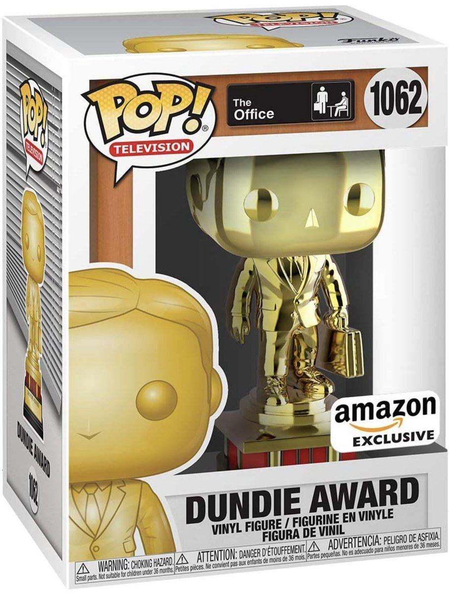 Preorder Now: Amazon exclusive Dundie Award! #TheOffice #funko #ad .