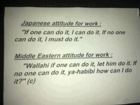 #اليابان VS  #الشرق_الاوسط