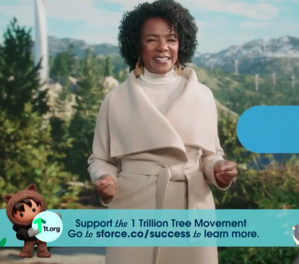 Always great to see @LeahBMH! And love the chance to plant some trees for doing @Trailhead badges to support @1t_org #DF2U #DF20